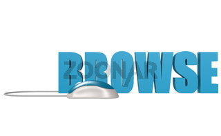Browse word isolated