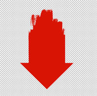 Red Arrow Transparent Background