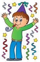 Boy celebrating theme image 1