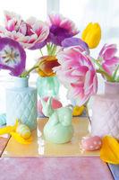 Bunte Dekoration zu Ostern