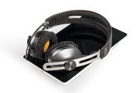 wireless headphones and tablet computer
