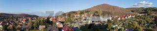 Panorama der Stadt Wernigerode