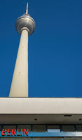 Fenrsehturm in Berlin