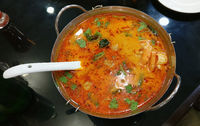 tom yam seafood - thailand spicy soup