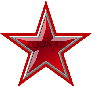 Vector Red Star