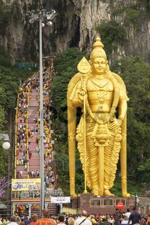 Heilige Höhlen von Batu, Malaysia