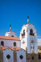 Kirchturm auf der Kanarischen Insel Teneriffa
