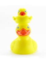 Rubber Duckies Stacked