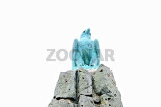 Adler auf dem Fliegerdenkmal Wasserkuppe Rhön