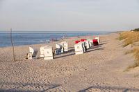 Strandkörbe, Prerow, Baltic Sea, Darss, Mecklenburg-Vorpommern