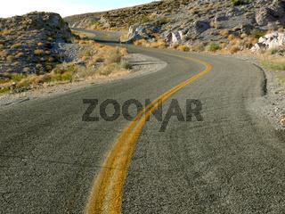 Unentschloßene Straßenführung - irresolute road