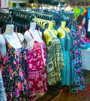 Dresses at Thailand night market