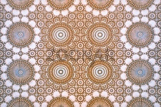 Wand Muster in Marokko