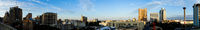 San Antonio Skyline Wide Panoramic South Cantral Texas
