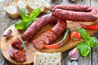 Spanische Chorizo-Paprikawurst