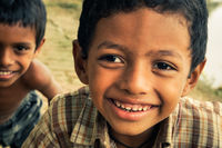 Brown-eyed friends in Bangladesh