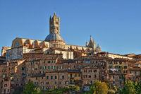 historische Altstadt von Siena - Toskana