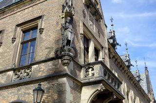 Historisches Gebaeude in der Prager Altstadt