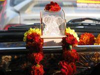 Ganesh im Taxi