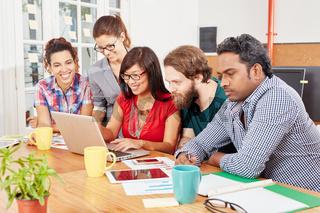 Startup Team im Computer Seminar