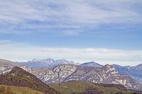 Ausblick von den  Monti Lessini