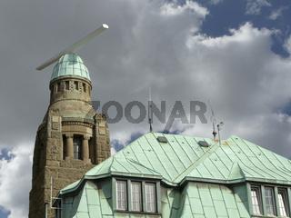 Westlicher Turm an der Alten Landungsbruecke in Hamburg