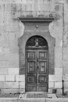 Traditional maltese door