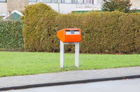 Posting a letter in the Netherlands