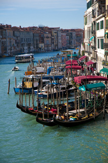 Canal Grande located at Venice, Italy