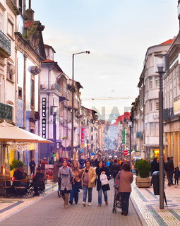 Rua Santa Catarina. Porto, Portugal