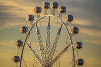 Ferris Wheel At The Port Of Valencia, Spain