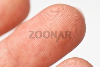 Macro photo of finger