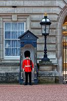 Grenadier Guards. London. Buckingham Palace. Buckingham Palast