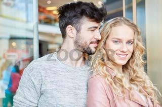 Junges verliebtes Teenager Paar