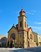 Vrsac town romanian church