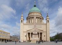 Nikolaikirche, historische Bauwerke von Potsdam, Deutschland, Europa