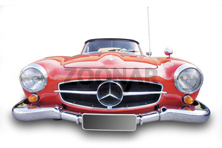 Oldtimer, 'Mercedes 190 SL' Baujahr 1962 - Oldtimer, 'Mercedes 190 SL' year of construction 1962