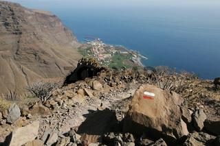 Wanderweg bei Valle Gran Rey