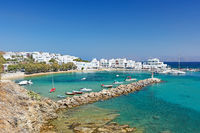 Pisso Livadi beach in Paros, Greece