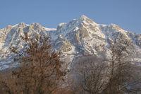 Bovegipfel in den Monti Sibillini