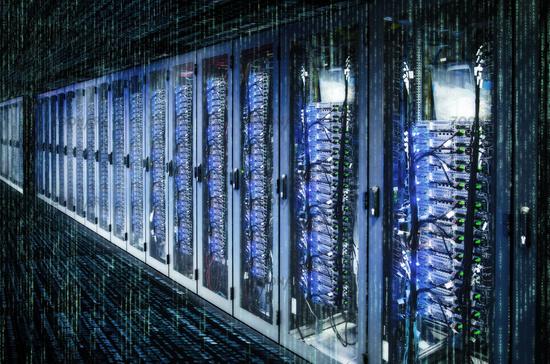 Rechenzentrum und Matrix