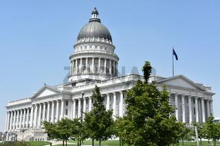 Utah State Capitol in Salt Lake City, Utah