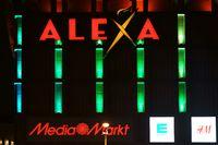 Kaufhaus Alexa nachts