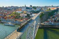 Porto skyline in daytime. Portugal