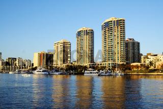 Dockside Marina Brisbane Australia
