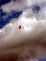 Ballon, Gewitterwolken