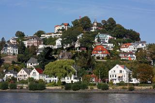 Hamburg-Blankenese mit dem Süllberg