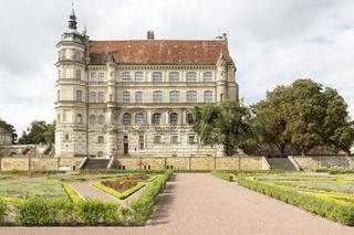 Schloss Güstrow in Mecklenburg-Vorpommern, Ostdeutschland