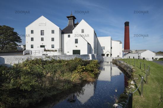 Die Whisky-Brennerei Lagavulin