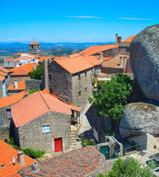 Famous Monsanto village architecture, Portugal